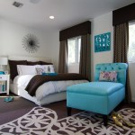 los angeles turquoise garden stool with beach style nightstands and bedside tables1- bedroom contemporary drapes white bedding