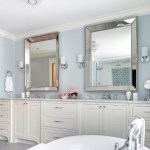 minneapolis silver floor mirror with magnifying makeup mirrors bathroom transitional and stand alone bath tub double vanity