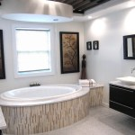 new york bathroom vessel sink ideas with contemporary air bathtubs and his hers double vanity