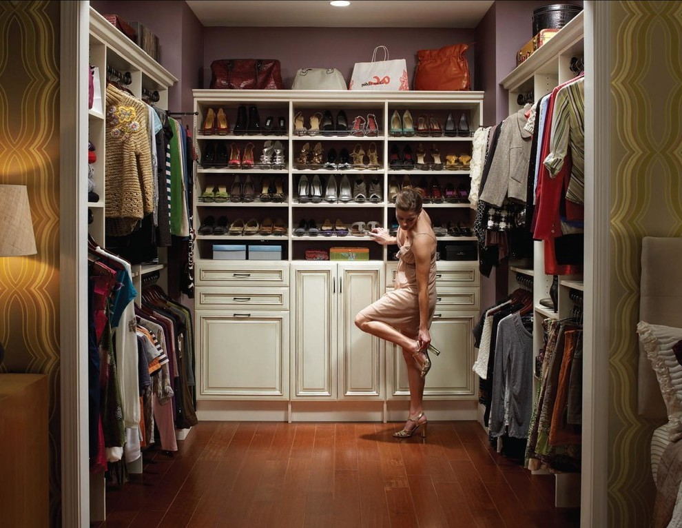 Terrific Walk In Closet Pictures With White Bubble Chair