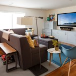 portland entertainment center ikea basement with cotton floor pillows and poufs contemporary remodel area rug