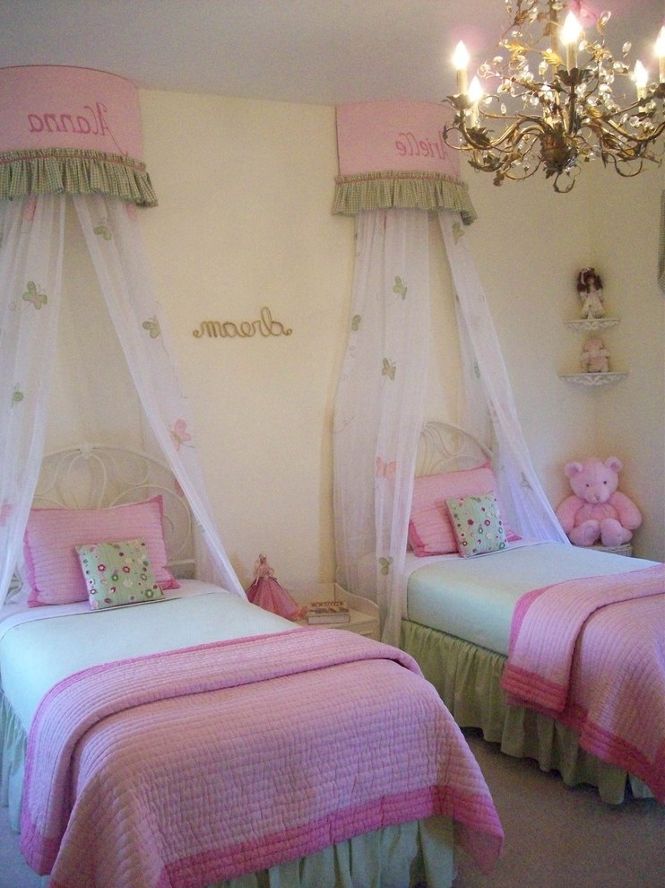 san francisco audrey hepburn bedroom with traditional baby and kids products wall letters mosquito net