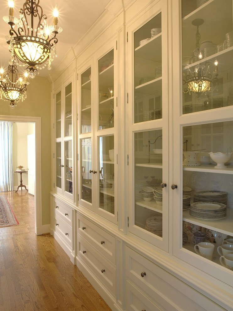 Blooming China Cabinet Ideas With Double Sided Cabinets White Trim