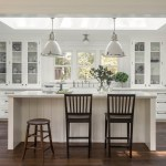 san francisco kitchen island seating with traditional bar stools and counter farmhouse ranch cabinetry