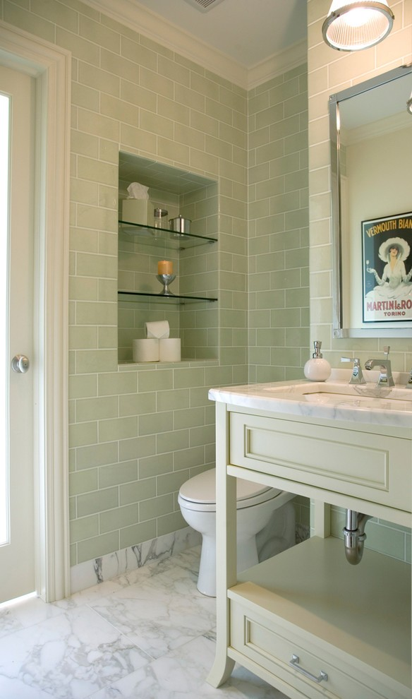 chicago subway tile pictures bathroom