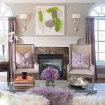 new york benjamin moore white dove with square decorative pillows living room traditional and purple velvet marble fireplace