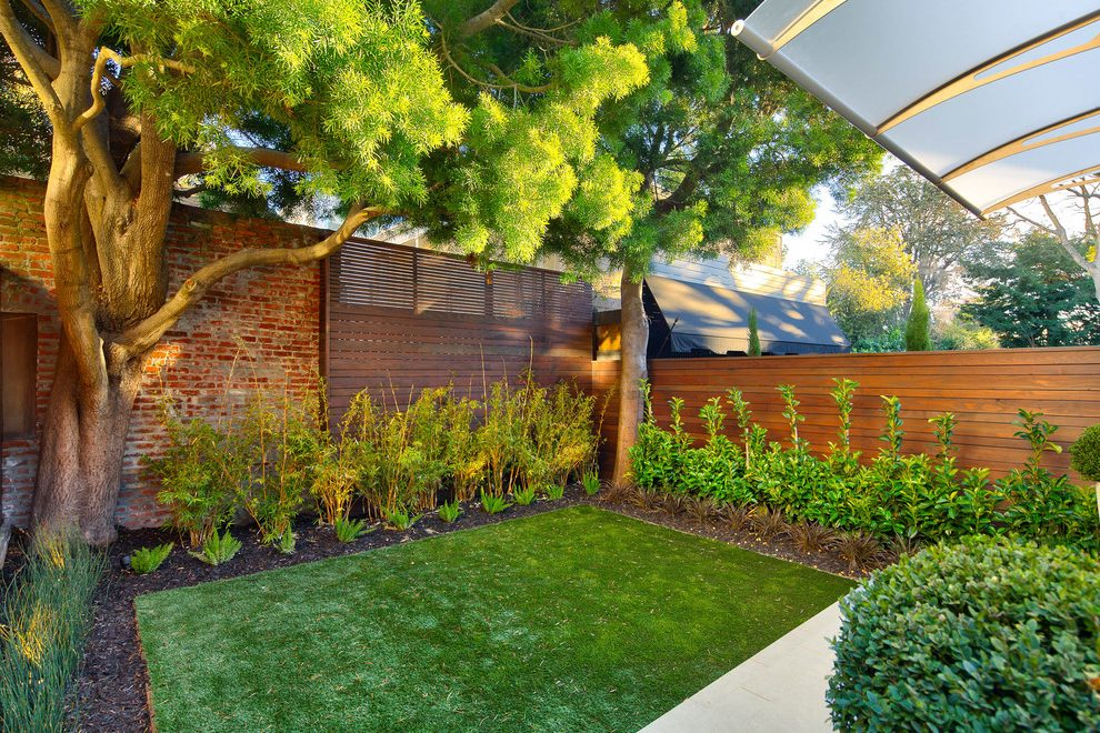san francisco backyard remodel ideas landscape ... on Backyard Landscaping Ideas With Trees id=74859