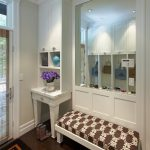 san francisco mudroom cabinetry with victorian wall mirrors entry and mirror wood paneling