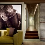 seattle beautiful interiors of with faux leather sectional sofas family room contemporary and los angeles architects