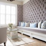 orlando gray tufted headboard with contemporary bedroom benches living room transitional and built-in bench wall