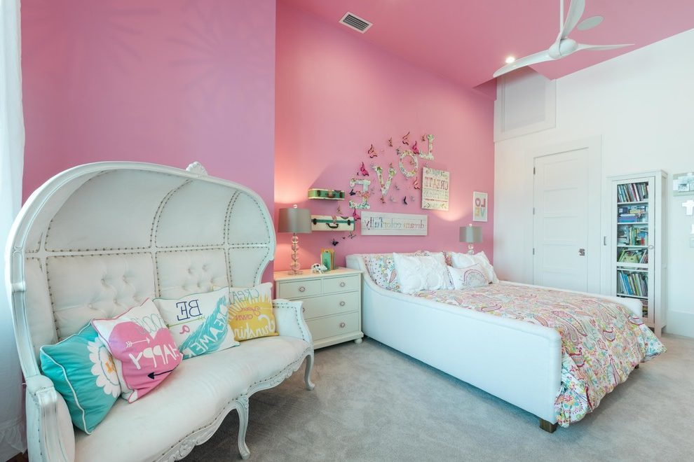 orlando pink bed canopy for girls with traditional baby and kids products dresser night stand walls