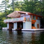 toronto muskoka living with traditional deck tiles and planks exterior rustic wood beams gray