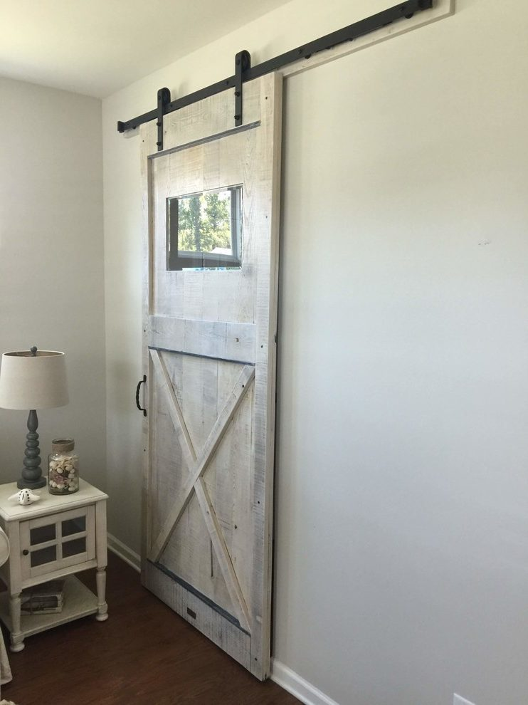 Outstanding Interior Barn Door Home Office Rustic With
