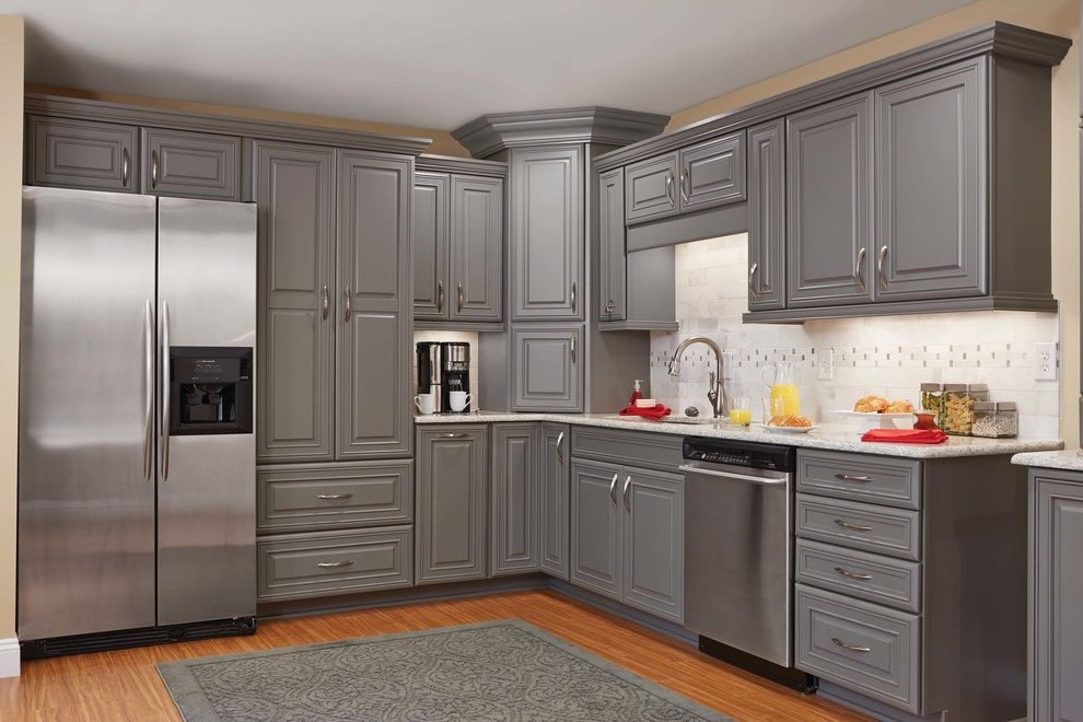 We asked designers from around the country about their predictions for the big kitchen trends we can anticipate in 2021. Orange County gray kitchens Kitchen Contemporary with kitchen and bath fixture professionals