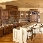 Kansas City white glazed Kitchen Traditional with stone and countertop manufacturers showrooms granite tile backsplash