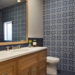 San Francisco bathroom makeup vanities Powder Room Transitional with kitchen and remodelers century modern transitional