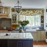 Chicago island with sink Kitchen Traditional kitchen and bathroom remodelers gray backsplash ideas5 x 8 ideas