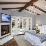 San Diego fireplace mantels with tv above Bedroom Traditional closet designers and professional organizers v