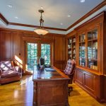 San Francisco behr brown paint Home Office Traditional with home stagers man s office