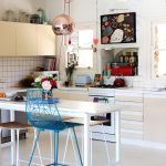 by Sweet William christopher peacock kitchen Melbourne Eclectic with hanging pencil cups