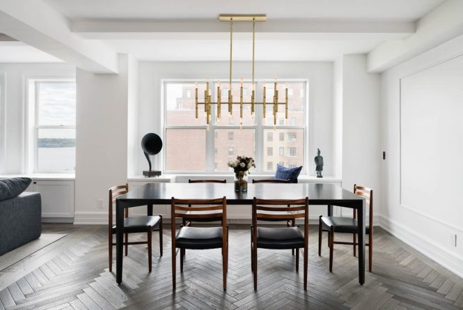 Marvelous Apartment Decor Dining Room Contemporary