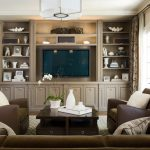 San Francisco golden oak cabinets Family Room Traditional with window dealers and installers black leather sofa ideas