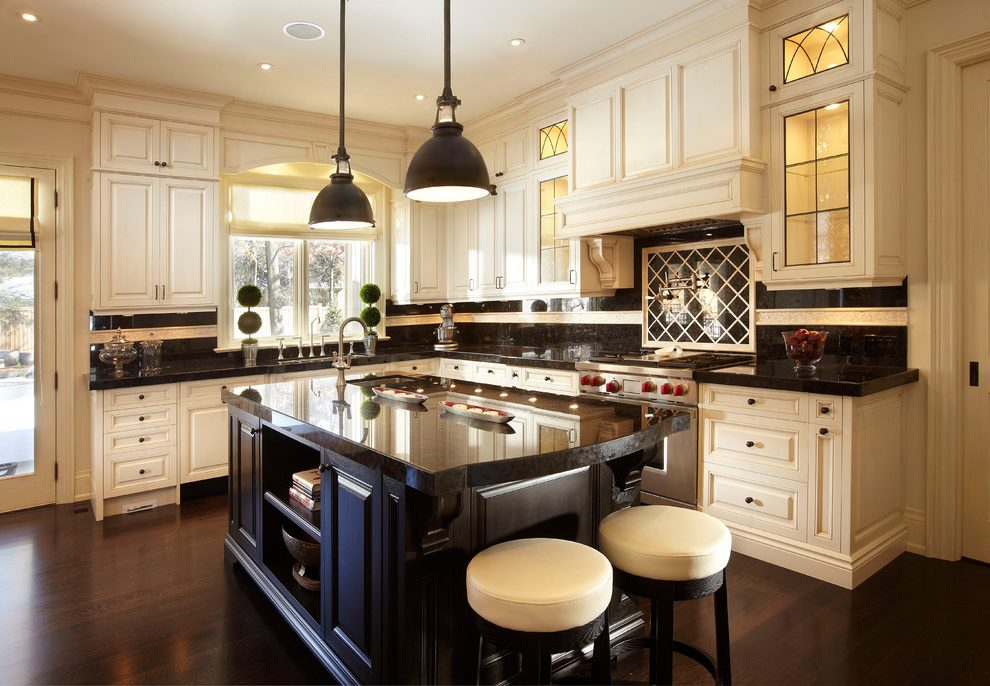 Toronto china cabinet designs Kitchen Traditional with stone and countertop manufacturers showrooms antique brown granite