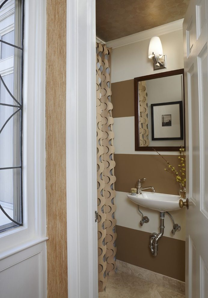 Detroit taupe wall paint Bathroom Traditional with mirror and shower door dealers tiny bathroom