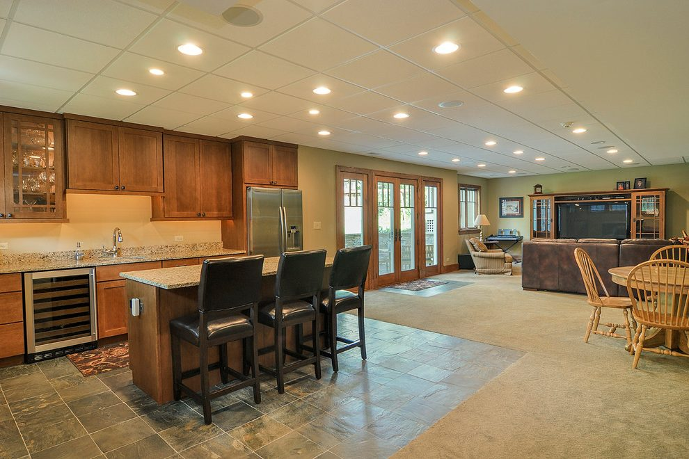 chicago remodeling basement ideas