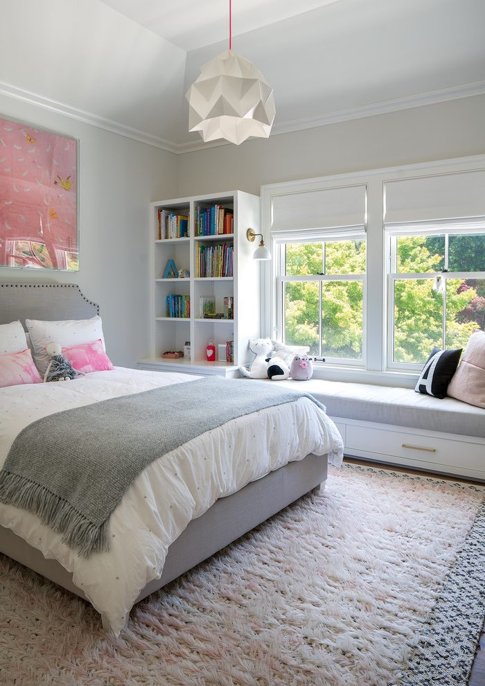 Brown And Pink Bedroom Ideas With Glass Front Cabinets White Wood