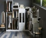 Amazing Closet Conversion Ideas interior Designs with All White and Cubby Hole Storage
