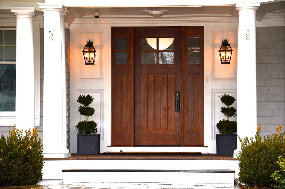 outdoor lights house entry