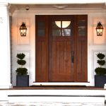 Astonishing rustic outdoor lighting in with wall and siding exterior contractors