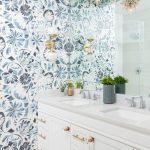 Delightful marble for bathrooms Transitional Bathroom in New York with frameless mirror and double sinks