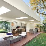Imaginative attractive plastic decking Contemporary Deck in Melbourne with outdoor furniture and recessed lighting