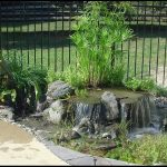 Terrific pondless water feature Eclectic Landscape in New York with Pondless Waterfalls and landscape contractor