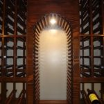 Sparkling wine bar design ideas Wine Cellar Design in with arched storage and cellar