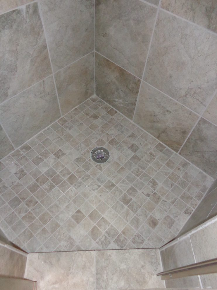 outstanding small shower remodel