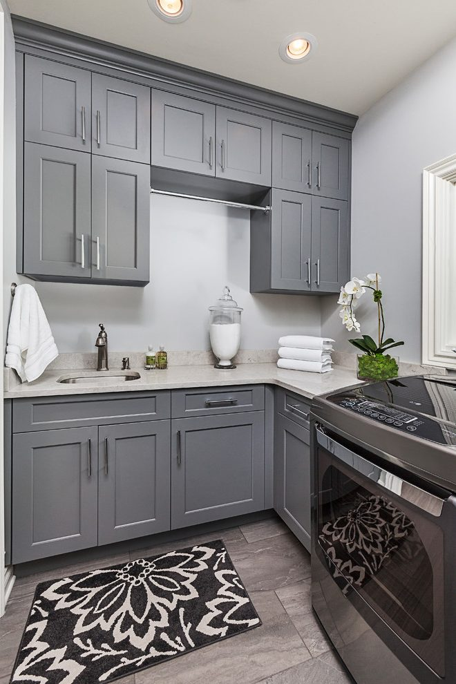 Detroit Laundry Room Cabinet Transitional Laundry Room ... on Laundry Cabinets Ideas  id=55684