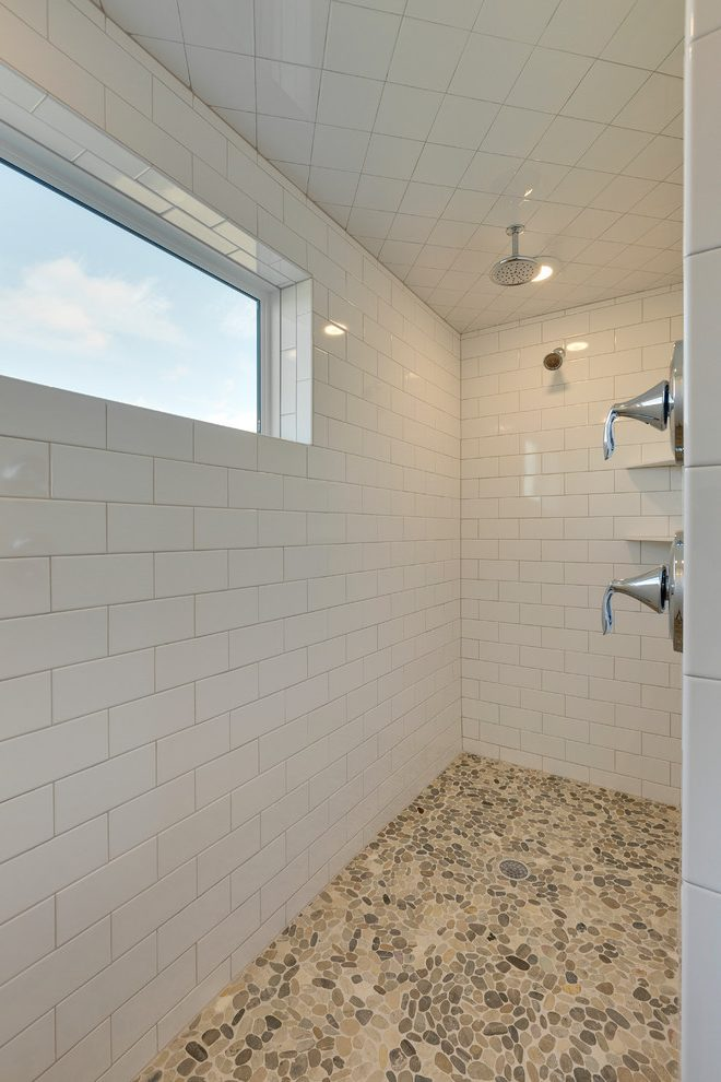 https madebymood com 25677 extraordinary white pebble tile home renovations with vessel sink and shower bench minneapolis white pebble tile transitional bathroom 3x6 subway tile granite countertop white gray granite countertop his and her sinks