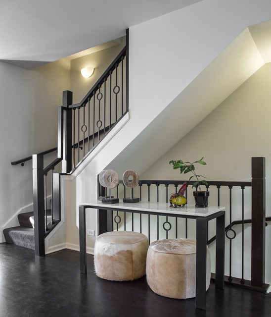 Astonishing Wrought Iron Staircases Staircase Modern Iron | Modern Iron Stair Railing | Handrail | Before And After | Glass | Ornamental | Elegant
