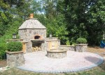 Beautiful Outdoor Pizza Oven Patio Mediterranean with Brick Mugnaini Wood Fired Kitchen Wood Fired Oven Pizza