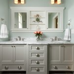 Fabulous Recessed Medicine Cabinets Bathroom Traditional With Painted Cabinets And Wall Sconce 12x24 Tile Double Sink Vanity Gray Floor Marble Countertops Painted Cabinets Recessed Medicine Cabinet