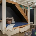 Awesome Basement Playroom Design Ideas Basement Transitional With Under Bed Storage And Bed Under Stairs Basement Reading Nook Remodel Beanbag Chairs