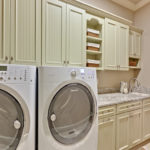 good looking shelving ideas for laundry room with dark on lowe s laundry room storage cabinets id=20983