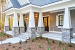 Awesome Hampton Bay Sconce Exterior Transitional with Wide Front Porch Gray Wood Exterior Southern Style Four Car Garage Tabby Drive Lowcountry Cottage Hardieshingle Stacked Stone Columns