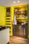 Fabulous Spice Cabinet Pull Out Kitchen Contemporary with Food Containers Pull-out Doors Rack Pull-Out Drawers YELLOW CABINETS Concealed Kitchen Hidden Rustic Wood Floor Hanging Spices