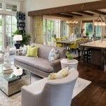 Magnificent Rug Under Kitchen Table Living Room Transitional With Small Scale And White Bunny Head Dark Wood Kitchen Exposed Beams French Country Gray