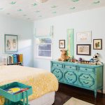 Dishy Giraffe Bedroom Kids Eclectic With Yellow Bedding And Pop Of Color Animal Theme Blue Dresser