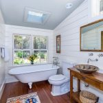 Fabulous Toto Promenade Sink Bathroom Farmhouse With Wall Mounted Faucet And Clerestory Window